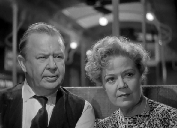 With Spring Byington in The Devil and Miss Jones