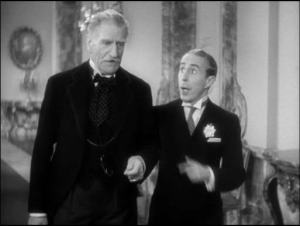C. Aubrey Smith and Charles Butterworth