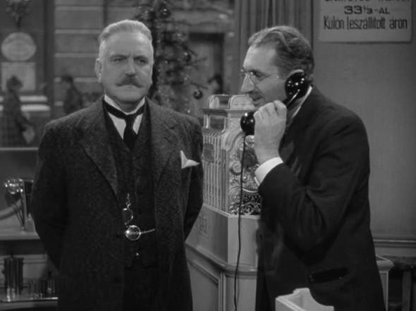 Frank Morgan, Felix Bressart in The Shop Around the Corner