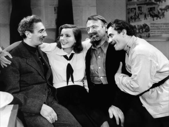 Felix Bressart, Greta Garbo, Sig Ruman, Alexander Granach in Ninotchka