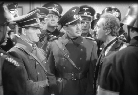 Tom Dugan, Jack Benny, Felix Bressart in To Be or Not to Be