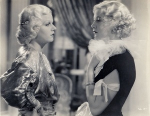 Jean Harlow and Una Merkel in Bombshell