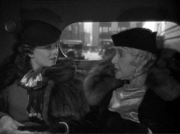 """Myrna Loy and May Robson """"Get rid of that secretary!"""""""