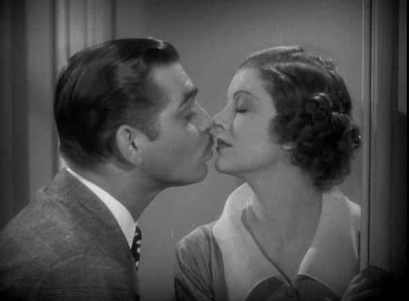 Clark Gable and Myrna Loy, the Morning After