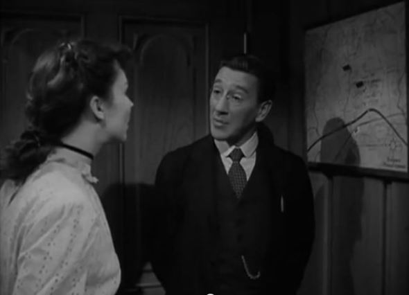 "Richard Haydn as Mr. Wilson - ""And this is where I shall die."""