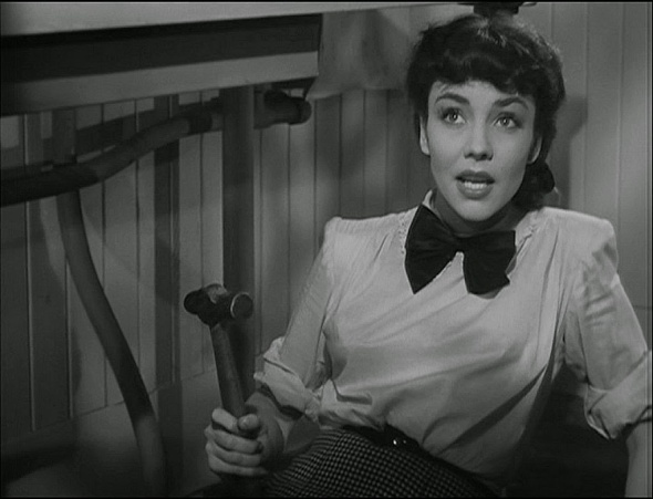 Jennifer Jones as Cluny Brown, Plumber