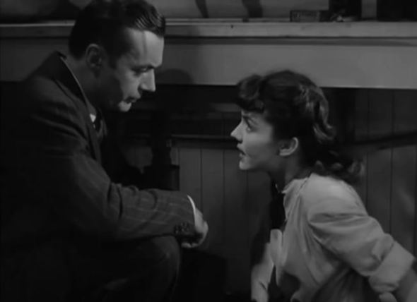 "Charles Boyer and Jennifer Jones ""Nuts to the Squirrels!"""