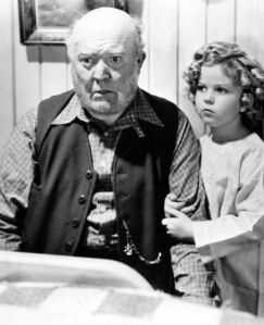 "with Shirley Temple in ""Captain January"""