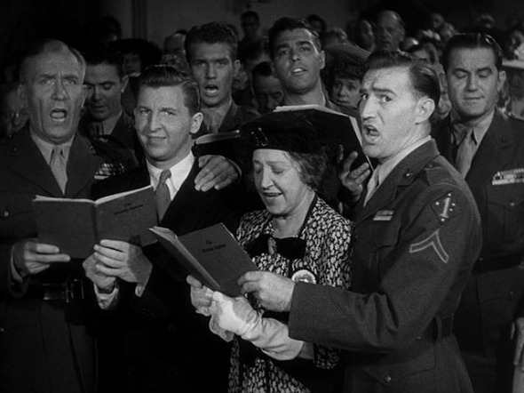 William Demarest, Eddie Bracken, Georgia Caine, Freddie Steele