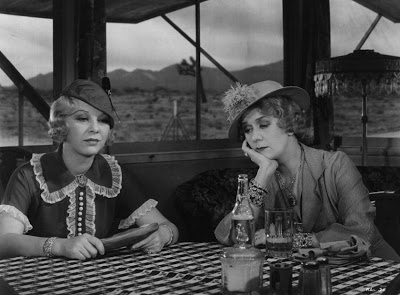 "with Glenda Farrell in ""Heat Lightning"""