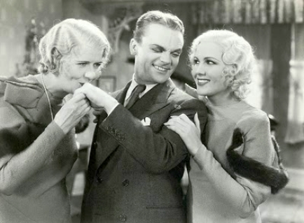 "with James Cagney in ""Hard to Handle"""