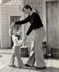 "Shirley Temple and Buddy in ""Captain January"""