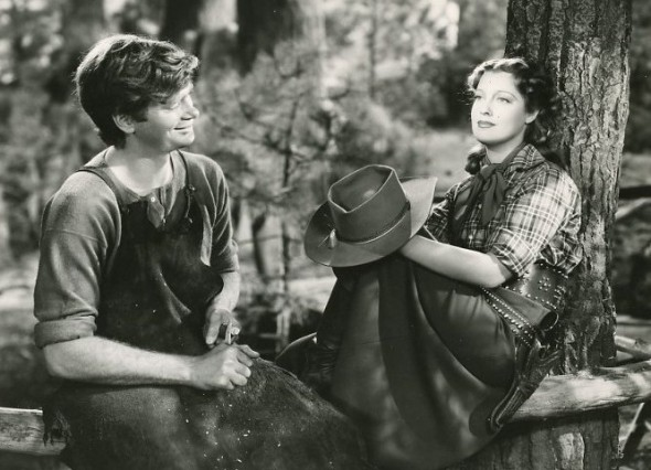 "Buddy and Jeanette MacDonald in ""Girl of the Golden West"""