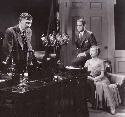 Walter Huston, Franchot Tone, Karen Morley