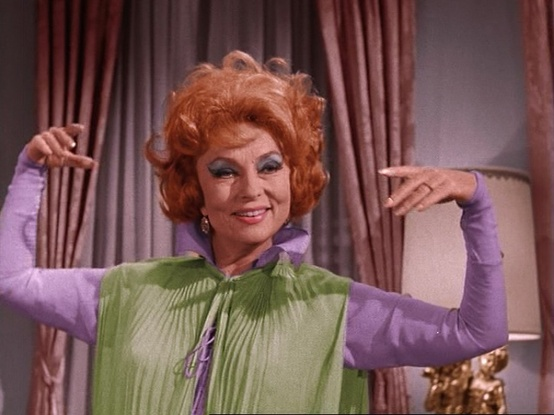 "Endora in ""Bewitched"""