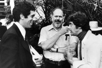 Elliot Gould, Robert Altman, and Mark Rydell