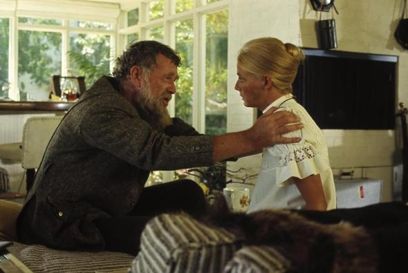Sterling Hayden and Nina van Pallandt