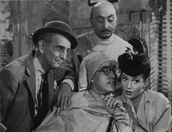 """with Harold Lloyd in """"The Sin of Harold Diddlebock"""" (1946)"""
