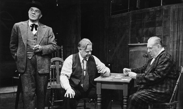 "Gene on Broadway as Willy Loman in ""Death of a Salesman"" (1949)"