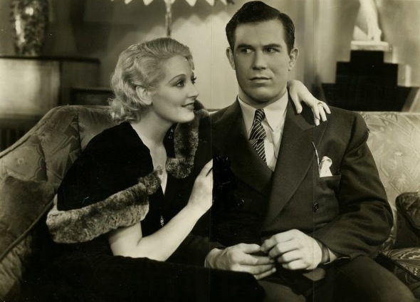 "Thelma Todd and Nat in ""Deception"""