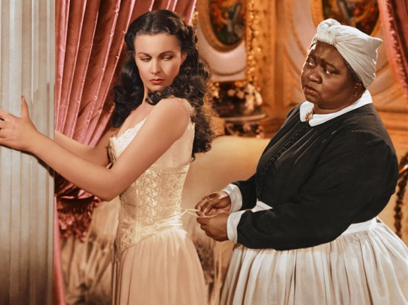"Hattie and Vivien Leigh in ""Gone with the Wind"" (1939)"