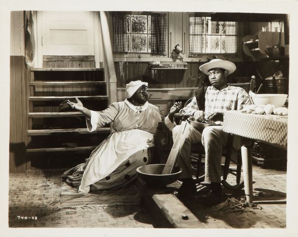 "Hattie and Paul Robeson in ""Show Boat"" (1936)"