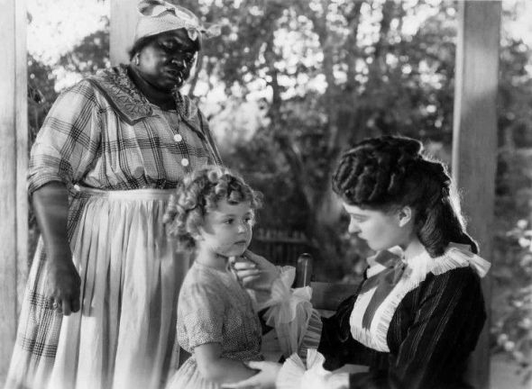 "Hattie with Shirley Temple in ""The Little Colonel"" (1935)"
