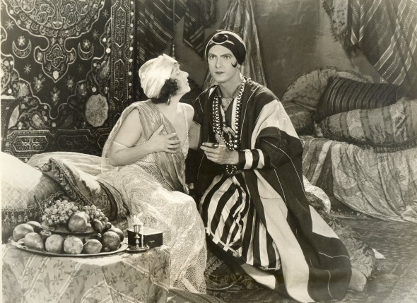 "Normal Talmadge and Joseph in ""Song of Love"" (1923)"